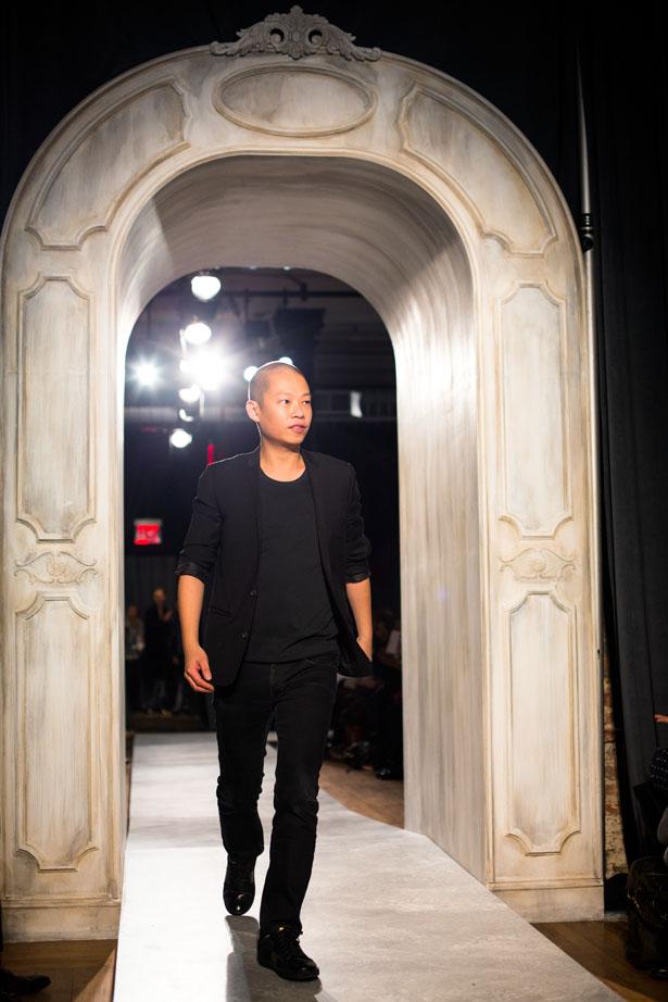 New York fashion designer Jason Wu shows his fall / winter 2014 collection