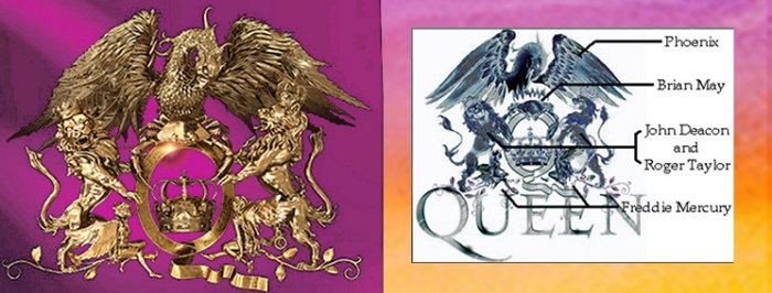 Queen Logo description